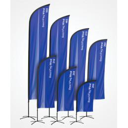 Beach Flag Wind